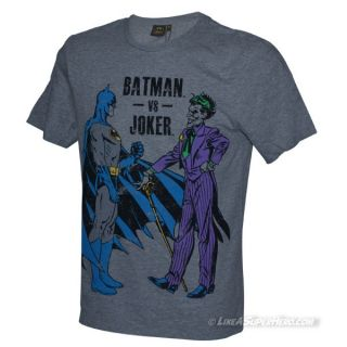 T-Shirt Batman Batman vs Joker