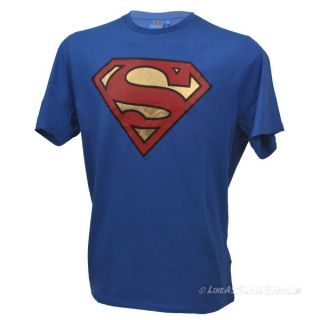 T-Shirt Superman Logo brillant