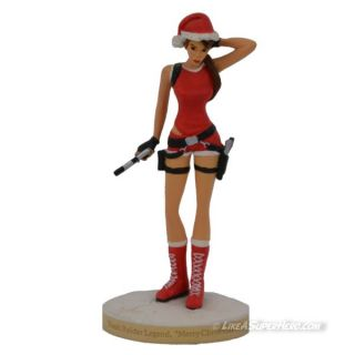 "Figurine LARA CROFT ""Merry Christmas"""