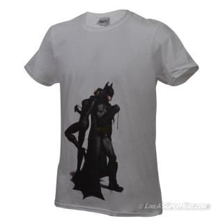 T-shirt Batman & Catwoman Back to Back
