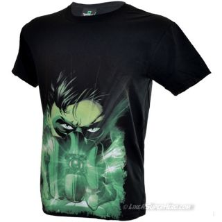 T-Shirt Green Lantern Close Up
