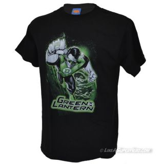 T-shirt Green Lantern Green and Gray