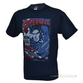 T-Shirt Superman Action Packed