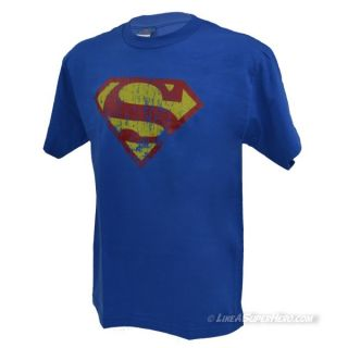 T-Shirt Superman Distressed Logo