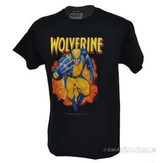 T-Shirt Wolverine charging