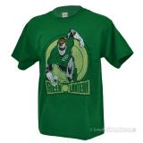 T-Shirt Green Lantern Distressed Lantern