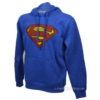 Sweat Superman Distressed Logo